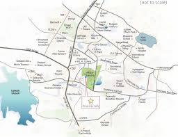 Hyderabad Map Gangothri Nakshatra In Manikonda Hyderabad Price Location Map