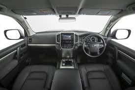 land cruiser interior 2017 toyota landcruiser altitude special edition announced