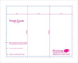 brochure templates for docs trifold format mado sahkotupakka co