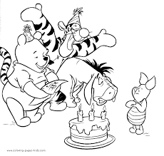 winnie pooh coloring pages coloring pages kids disney