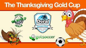 thanksgiving gold cup sponsored by doral soccer club doral
