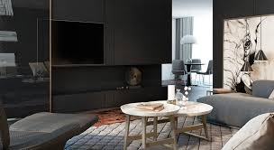Black Living Rooms Ideas  Inspiration - Black living room decor