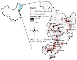 Shenyang China Map by Sensors Free Full Text Mapping And Evaluating The Urbanization