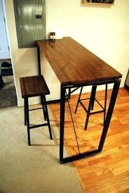 industrial bar table and stools small high bar table industrial bar table by on small high top bar
