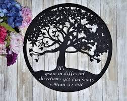 metal tree etsy