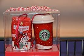 starbucks ornaments ceramic mini cup