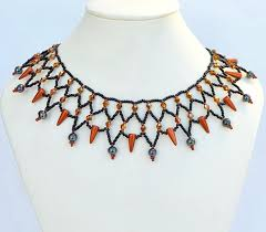 beading necklace images Free pattern for beaded necklace vivian beads magic jpg