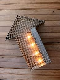 arrow of light decorations marquee lights industrial arrow arrow sign lighted sign
