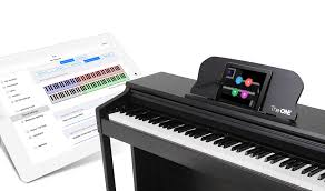 keyboard that lights up to teach you how to play smart piano the one smart piano