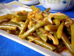 cuisiner l ail haricots verts à l ail échalote facile le cuisine de samar