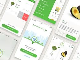 grocery app concept sketch freebie download free resource for