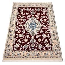 Persian Rug Mouse Mat by Size 026x4 Nain Wool Rug Iran