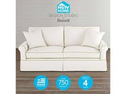 Home Design Studio Furniture Bassett Hgtv Home Design Studio Customizable Small Sofa Great