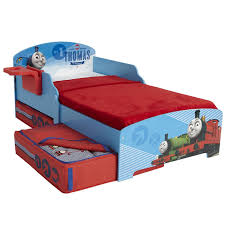 Thomas The Tank Engine Bed Character Disney Junior Toddler Beds With Storage Shelf