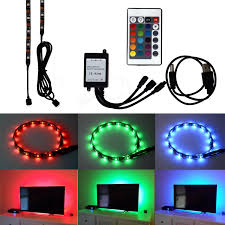 pc led light strips honesteast tv backlight bias lighting kits for hdtv 2 amazon co