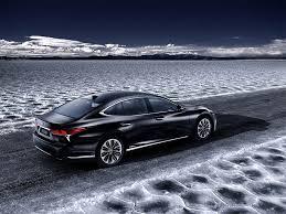 lexus ls kiriko glass lexus wants buyers to plug in with ls 500h hybrid flagship