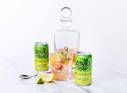 vodka tonic calories dry lemon lime mixers zero calorie zevia
