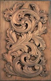 thoe furniture baroque wall sculpture carving