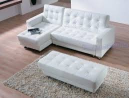 Modern Line Furniture by Small White Leather Sectional Foter