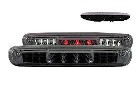 silverado third brake light cover amazon com sppc smoke led 3rd brake lights for chevy silverado