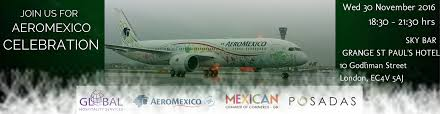 Press Advertising Aeromexico Multi Format Aeromexico Celebration 2016