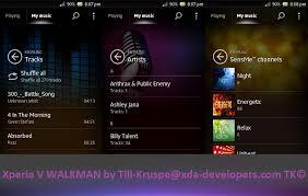 sensme slideshow apk mod app xperia v walkman media app sony xperia p u sola go