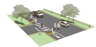 pedestrian lane rural design guide