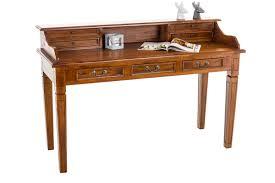 Schreibtisch Schmal Holz Sekretär Konstantin Mahagoni Schreibtisch Holz Tisch Bürotisch