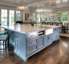 comfortable large kitchen island also home decoration for interior