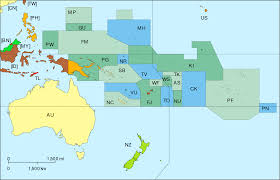 World War 1 Political Map by Military History Of Oceania Wikipedia