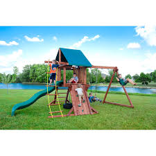 kids wood playhouses swing sets u0026 playsets compare prices at