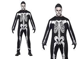mens skeleton costume halloween skeletons fancy dress m l