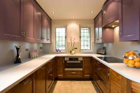attractive beautiful small kitchen design with compact interior