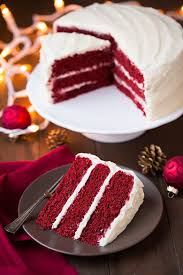 tasty red velvet cake and cream cheese frosting daily simple recipes