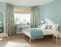 light blue curtains bedroom what should you concern in the choice of curtains in the country