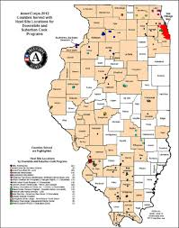 Map Of Central Illinois by Serve Illinois Gov