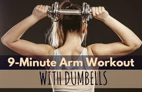 9 minute seated arm and shoulder workout