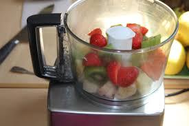 recette de cuisine avec blender jus de ananas banane kiwi fraise bocook