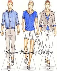 hayden williams fashion illustrations 2010