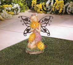garden blooms fairy solar statue wholesale at koehler home decor