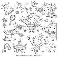 princess sketch stock images royalty free images u0026 vectors