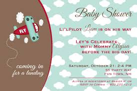 Carlton Cards Baby Shower Invitations Airplane Baby Shower Invitations U2013 Gangcraft Net