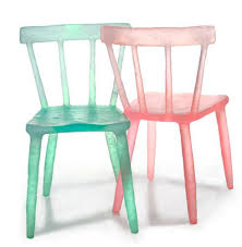 Plastic Table And Chairs These Glowing Chairs And Tables Are Made Out Of Recycled Plastic