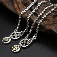 silver necklace from india images Solid silver 925 vintage indian style long chain necklace men jpg
