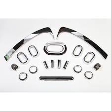 chrome jeep accessories rugged ridge 11156 97 interior trim accent kit chrome 07 10 jeep