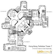 Parkview Floor Plan Hong Kong Luxury Apartments And Property Specialists Landscope