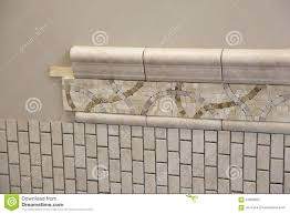 New Bathroom by New Bathroom Tile Installation Stock Photo Image 61958662