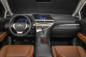 lexus rx 350 review motor trend best feature per dollar cars motor trend