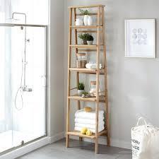 plastic bathroom storage cabinets india ladder style teak shelf
