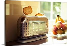 Wall Toaster A Classy And Stylish Chrome Checkered Toaster Pops Up A Slice Of